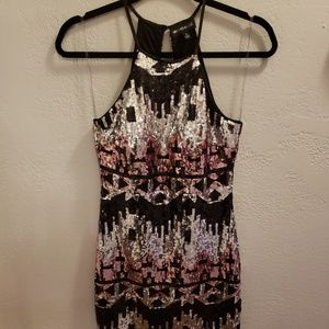 Fully Sequined Formal Dress Sz 1
